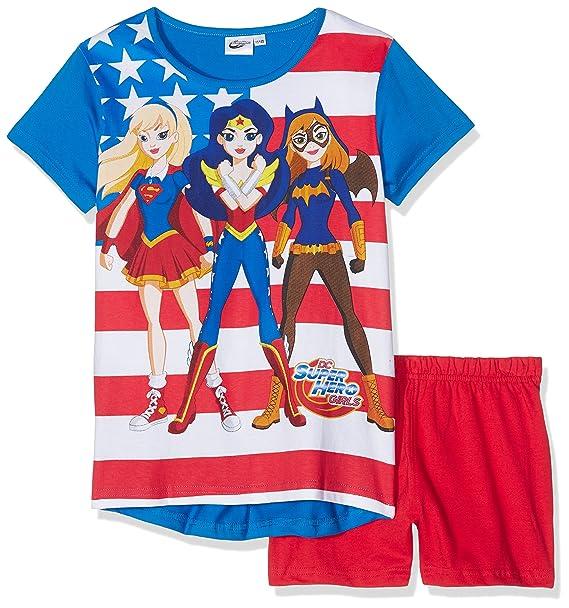 DC Super Hero Girls DCHE27404, Ropa Interior de Deporte para Niñas, Azul (d
