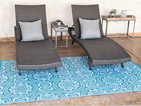 reversible mats outdoor patio mat virgin polypropylene easy to clean perfect for picnics cookouts camping the beach and patio boho design