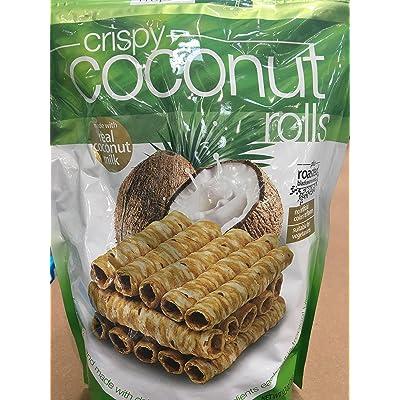 2 pack Tropical Fields Crispy Coconut Rolls: Home Improvement