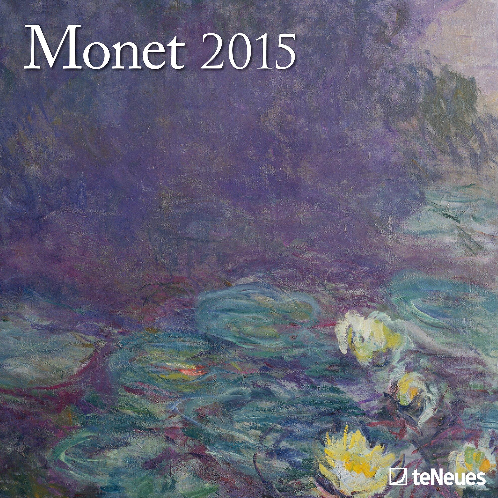 claude monet 2013 calendar