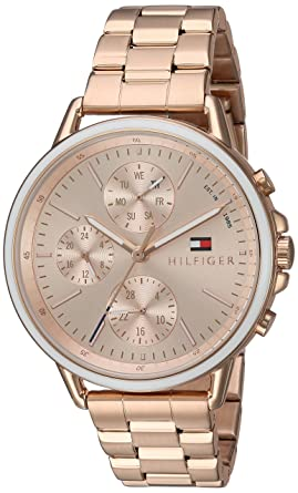 07bb371b Image Unavailable. Image not available for. Color: Tommy Hilfiger Women's  Casual Sport Quartz Watch ...
