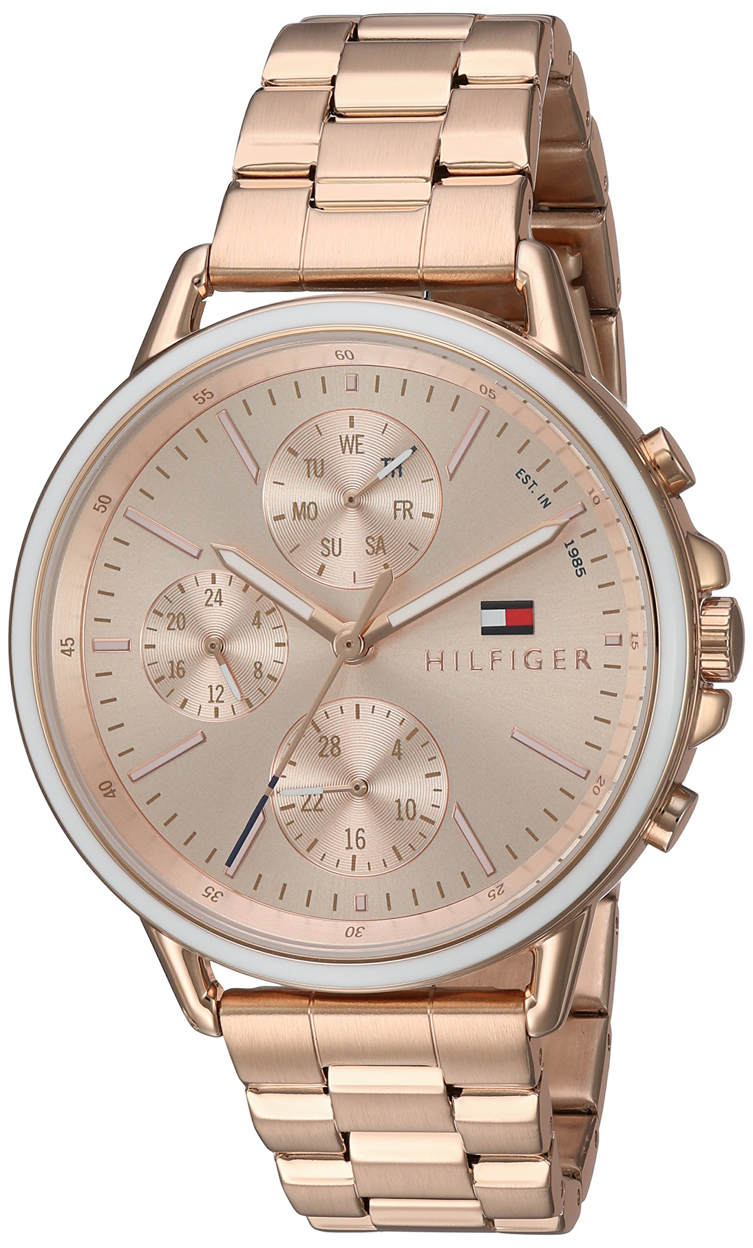 Tommy Hilfiger Women's 'Sport' Quartz Gold Casual Watch(Model: 1781788) by Tommy Hilfiger