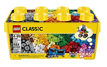 7efe051fe987 LEGO 10696 Classic Medium Creative Brick Box, Easy Toy Storage, Lego  Masters Fan Gift