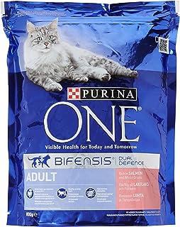 Purina ONE - Comida para gato seco de adulto (200 g, 6 unidades)