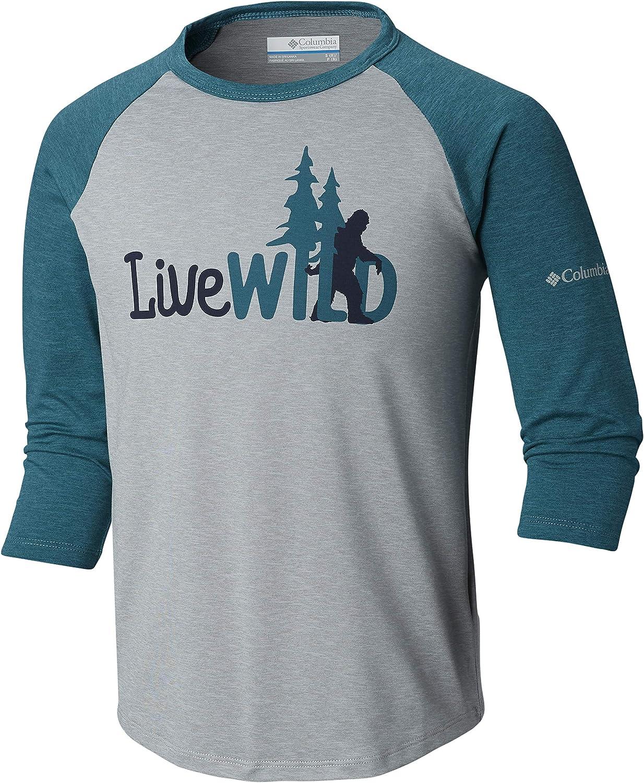 Columbia Boys Outdoor Elements3/4 Sleeve Shirt