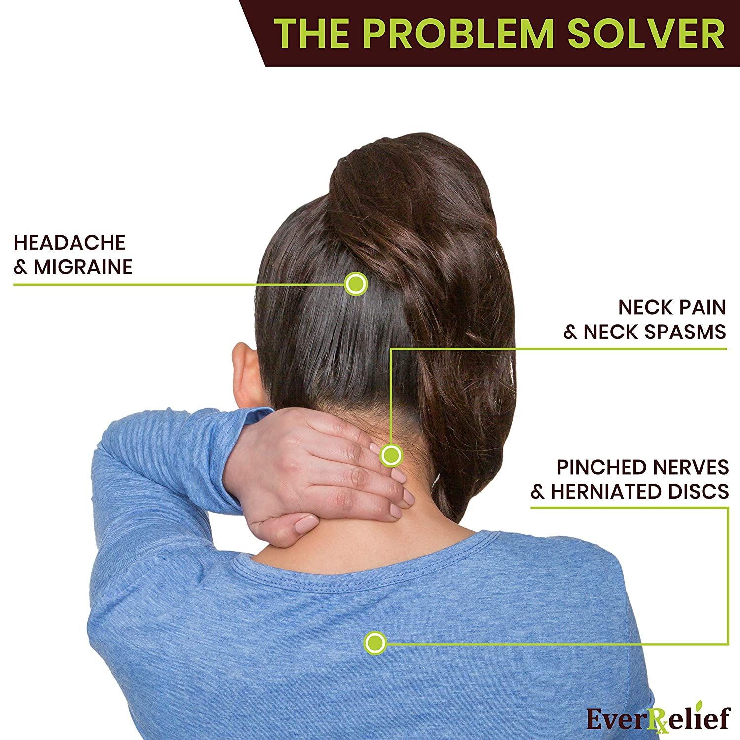 Amazon com: EverRelief Cervical Neck Traction Device