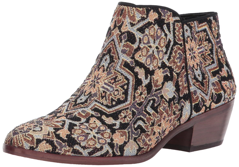 Sam Edelman Women's Petty Ankle Boot B01MSYPRQF 8 B(M) US|Black/Multi Turkish Tapestry