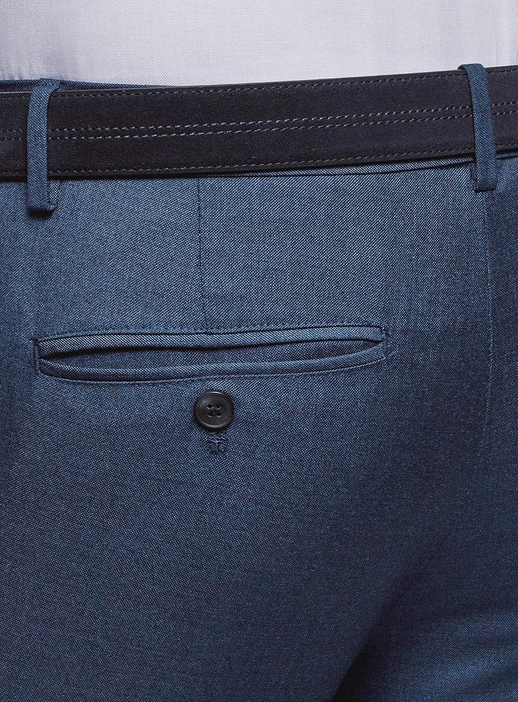 oodji Ultra Uomo Pantaloni Slim Fit Basic