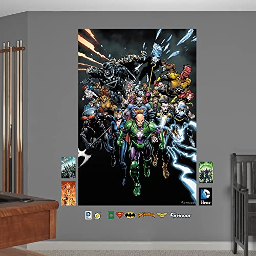 Fathead DC Comics Villains Mural