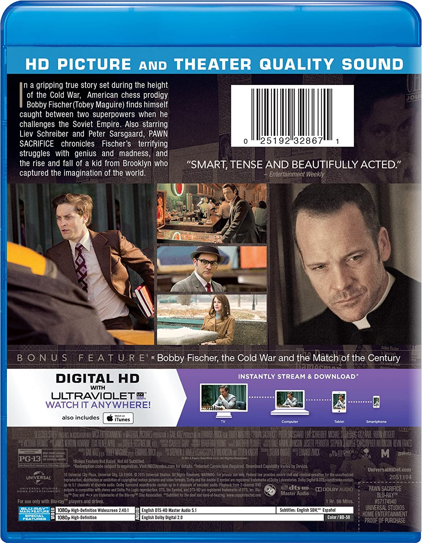 Pawn Sacrifice Blu Ray Digital Hd Amazon Com Mx Pel Culas Y  # Muebles Fischer