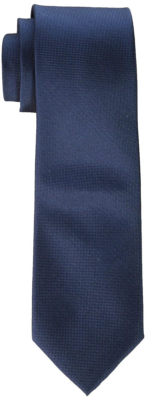 Calvin Klein Oxford - Corbata para hombre - Azul - Regular: Amazon ...