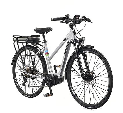 BIBÓO YAK - BICICLETA ELÉCTRICA DE PASEO/TREKKING, EBIKE, de aluminio, talla única, ruedas de aluminio de ...