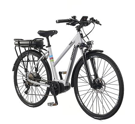 Bibóo Bikes Yak Bicicleta Eléctrica, Unisex Adulto, Gris, M ...