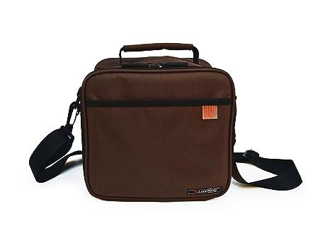 Borse Porta Pranzo Ufficio : Iris mini valigetta porta pranzo marrone marrone taglia unica