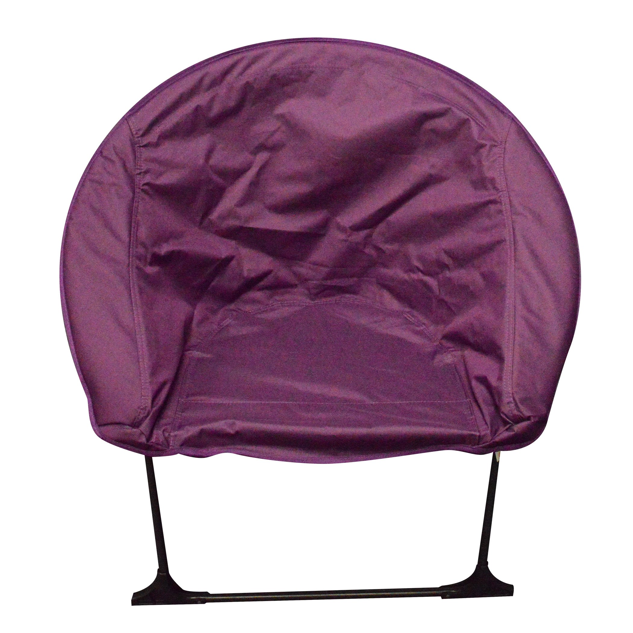 Impact Canopy Luna Lightweight Portable Folding Dorm Chair, Purple