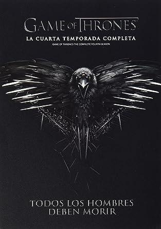 Amazon.com: Juego De Tronos Temporada 4 (Game of Thrones Season 4 ...