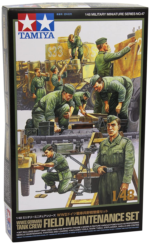 1:48 Set mini carro armati con soldato Tamiya 300032547