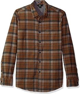 46b78c7bb8d949 Volcom Men s Caden Classic Flannel Long Sleeve Shirt