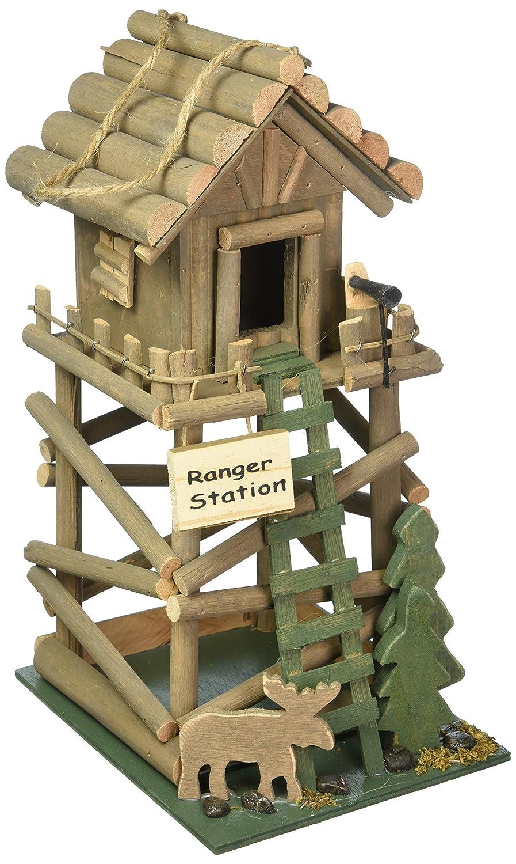 Koehler Home Decor Ranger Station Hanging Birdhouse Smart Living SS-KHD-10016369