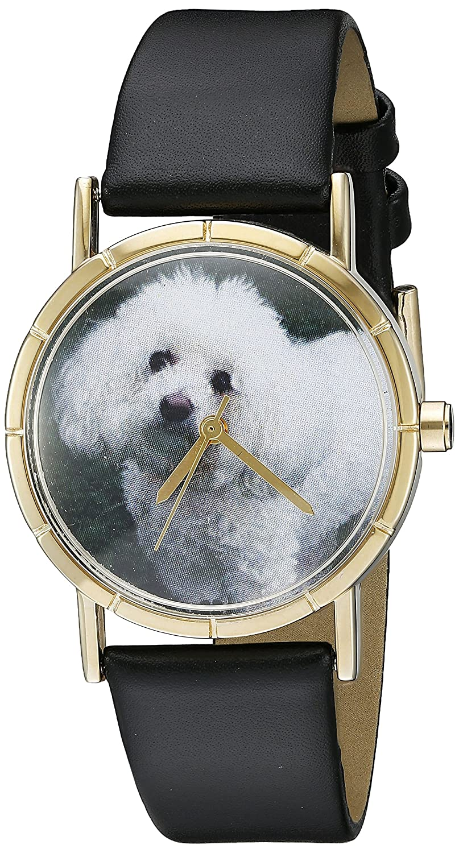 Whimsical Watches P-0130010 - Reloj analógico de Cuarzo Unisex, Correa de Cuero