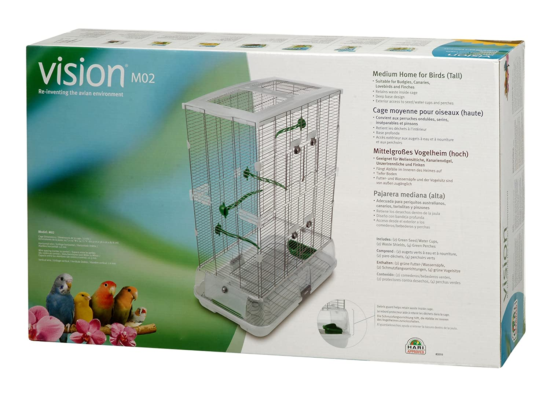 Vision M02 - Jaula, 61 x 38 x 87,5 cm: Amazon.es: Productos para ...