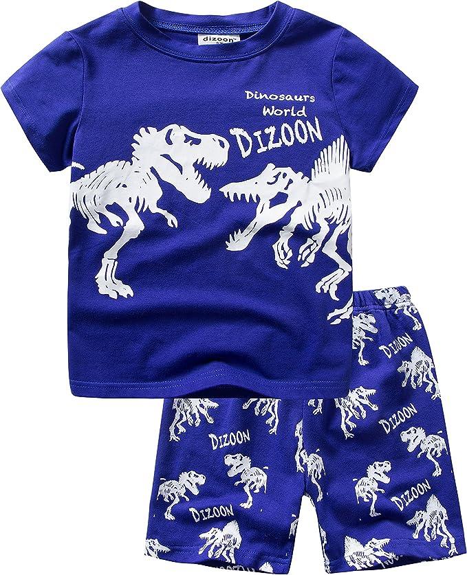 Backbuy Chicos Pijama niños de algodón Verano Ropa de Dormir ...