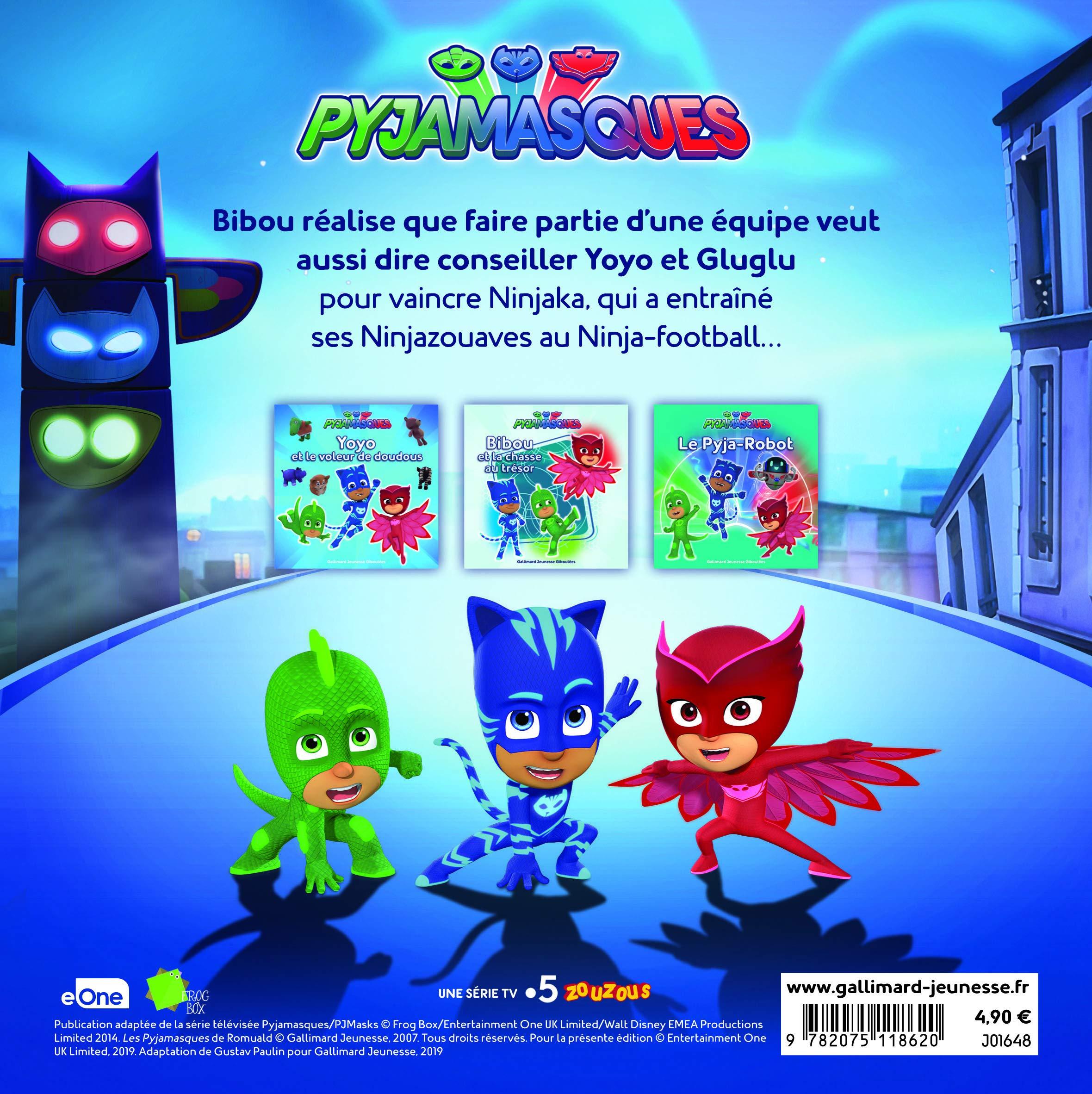 Les Pyjamasques (série TV), Tome 15 : Bibou et le Ninja ...
