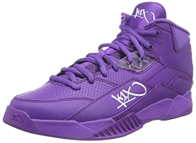 K1X Mens 0155-4465 Hi-Top Trainers Purple Size  10 UK  Amazon.co.uk ... af242f00fa5c