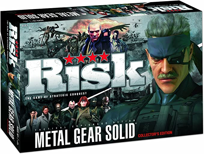 Import Anglais]Metal Gear Solid Risk - Collectors Edition Board ...