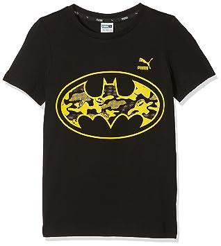 c97e6f12da3a3 PUMA Justice League T-Shirt Enfant Noir FR   2XL (Taille Fabricant   176