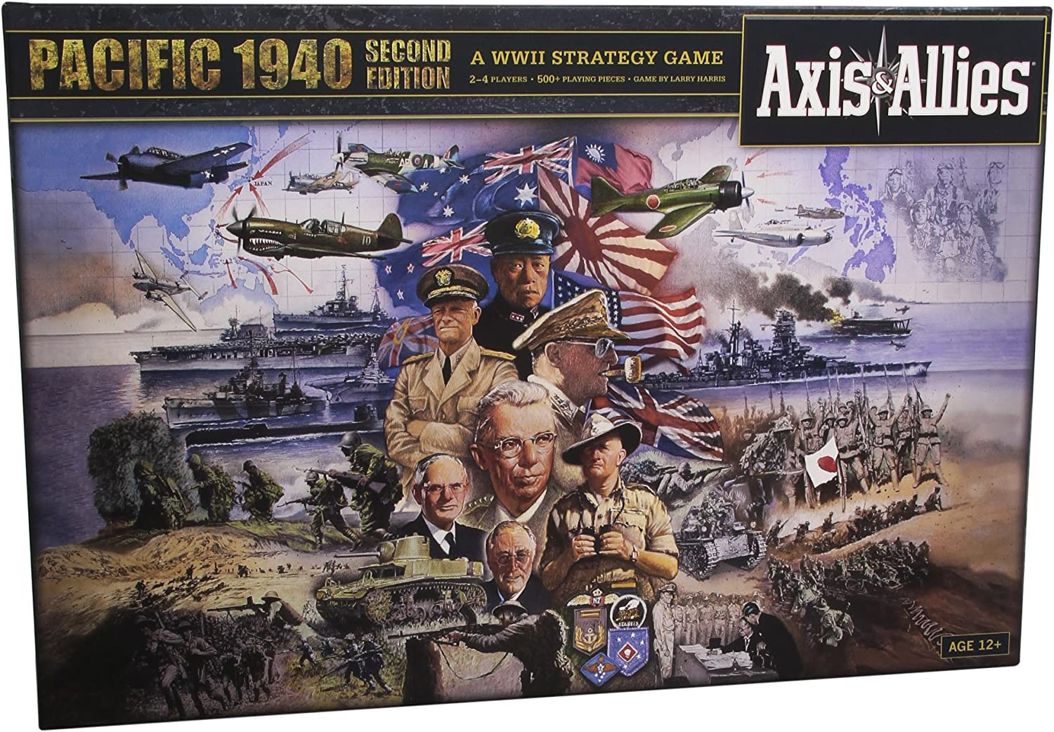 Avalon Hill / Wizards of the Coast A0626 - Juego de Mesa Axis & Allies: Pacific 1940 2nd Edition (Instrucciones en inglés): Axis & Allies Pacific 1940 2nd Edition: Amazon.es: Juguetes y juegos