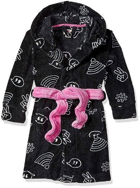 Amazon.com: Petit Lem - Albornoz con capucha para niñas ...