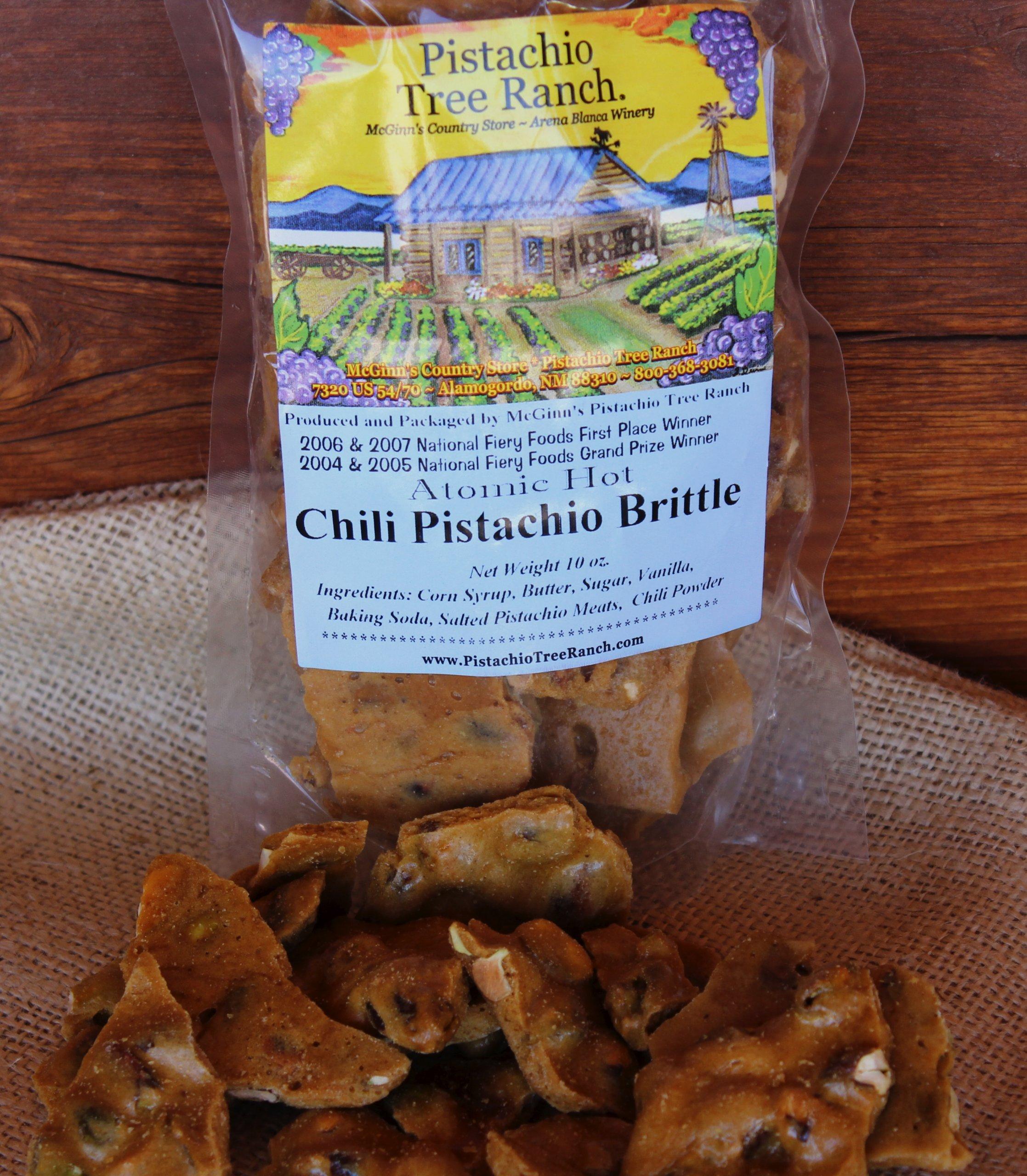Atomic Hot Chili Pistachio Brittle