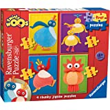 Ravensburger 7020 My First Puzzle Twirlywoos Jigsaw Puzzles - 2, 3, 4 and 5 Pieces