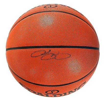 82f1cbeb5 Lebron James Los Angeles Lakers Signed Autographed Spalding NBA Game Ball  Series Basketball COA