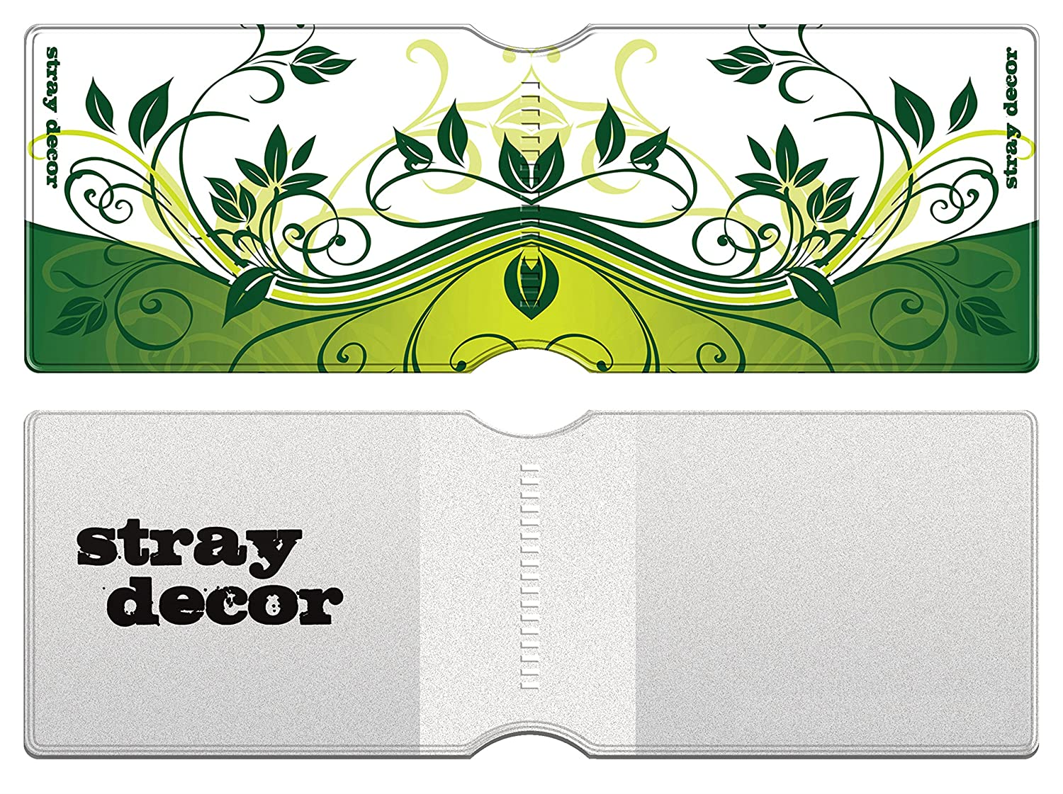Butterfly Green Credit Travel Oyster Card Holder // Bus Pass Wallet Stray Decor