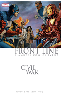 CIVIL WAR PUNISHER WAR JOURNAL GRAPHIC NOVEL New Edition - 184 Pages Paperback