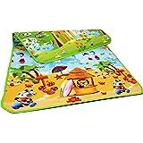 NOVICZ Baby Waterproof Crawl Multicolour Resin Play Mat -180 x 120 cm