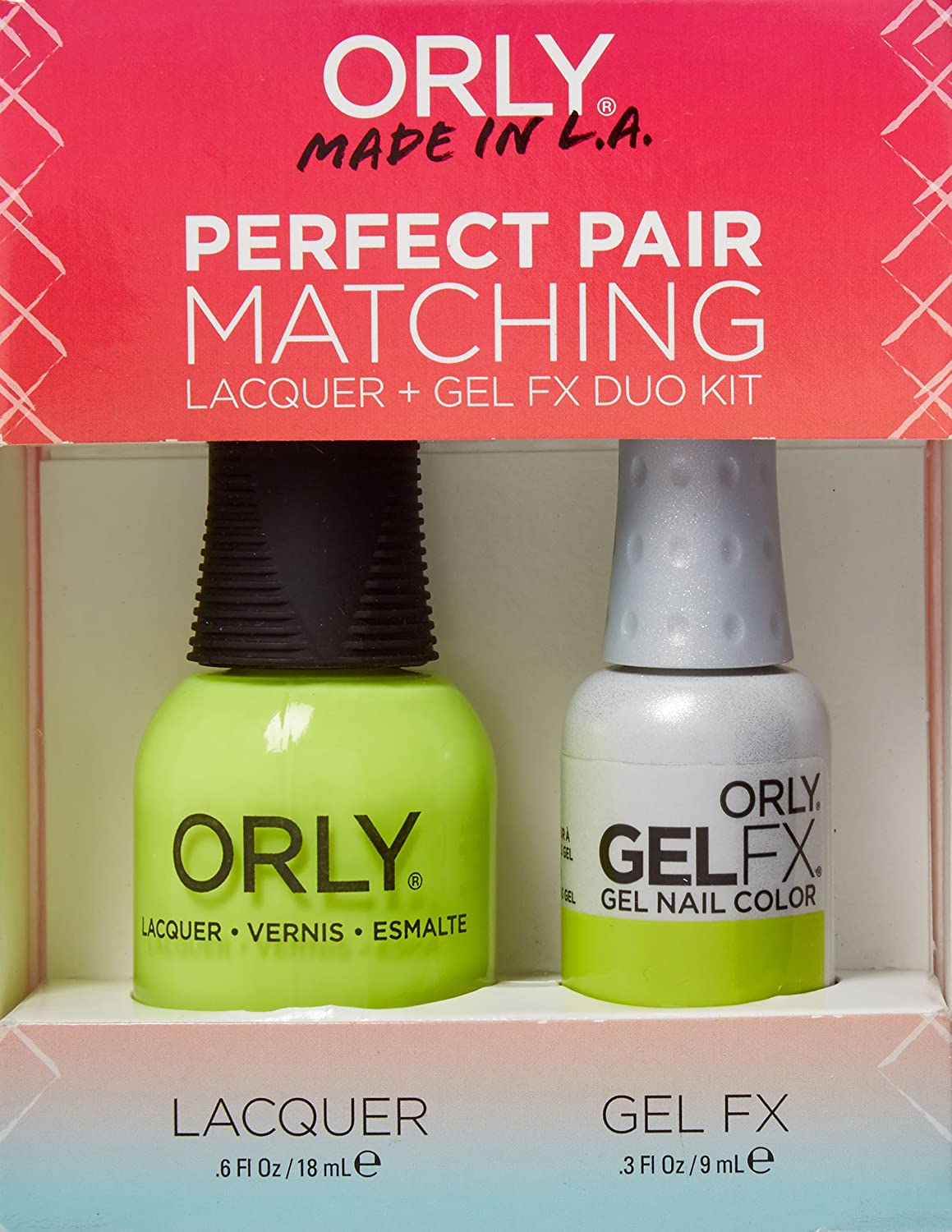 Amazon.com : Orly Perfect Pair Matching Lacquer and Gel Duo Kit ...