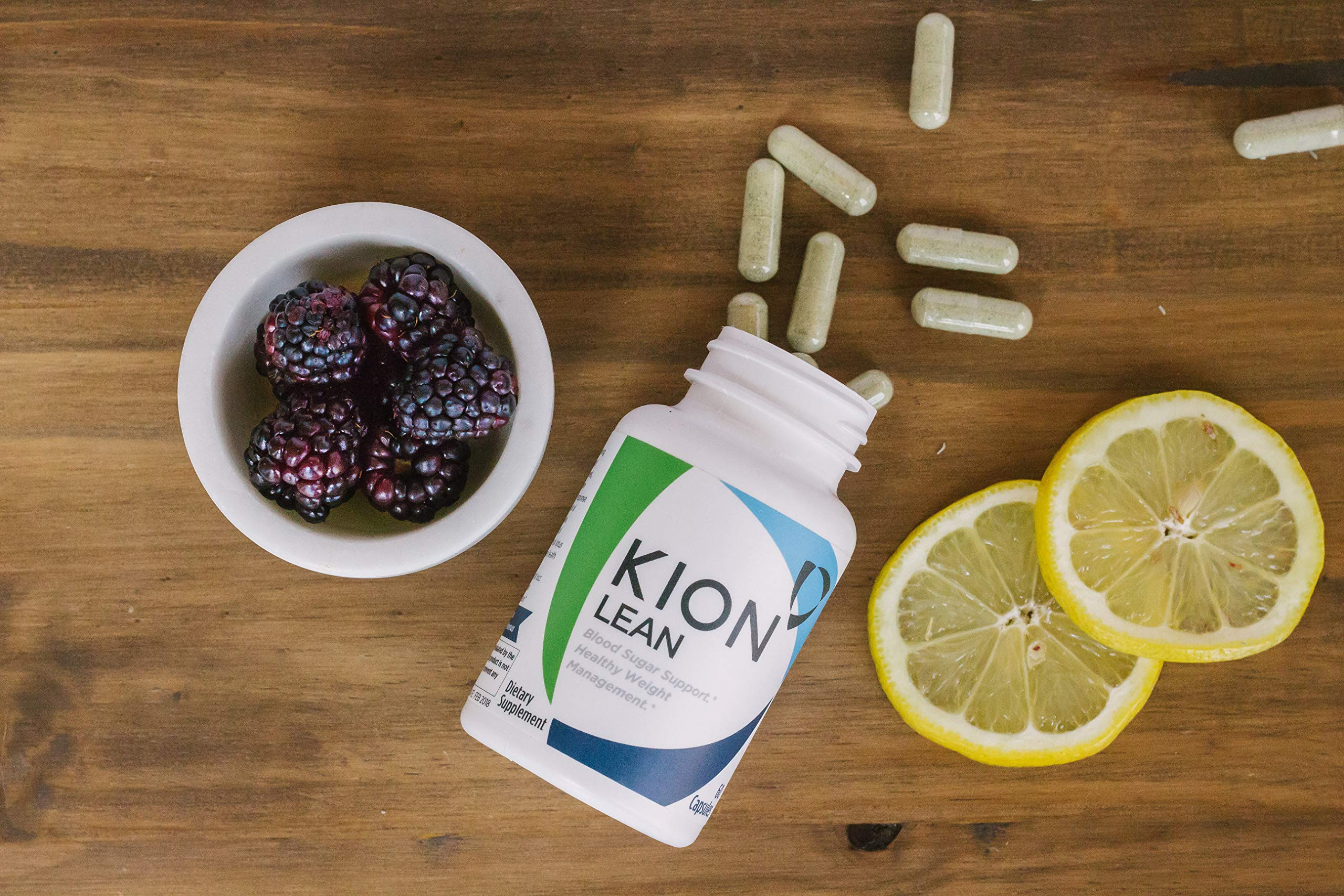 Kion Lean | Supports Weight Management, Liver Health, Blood Sugar Regulation, Healthy Body Fat Levels, and Longevity | Contains Bitter Melon (Glycostat) and Rock Lotus (Kingsun) | 30 Servings by Kion (Image #7)