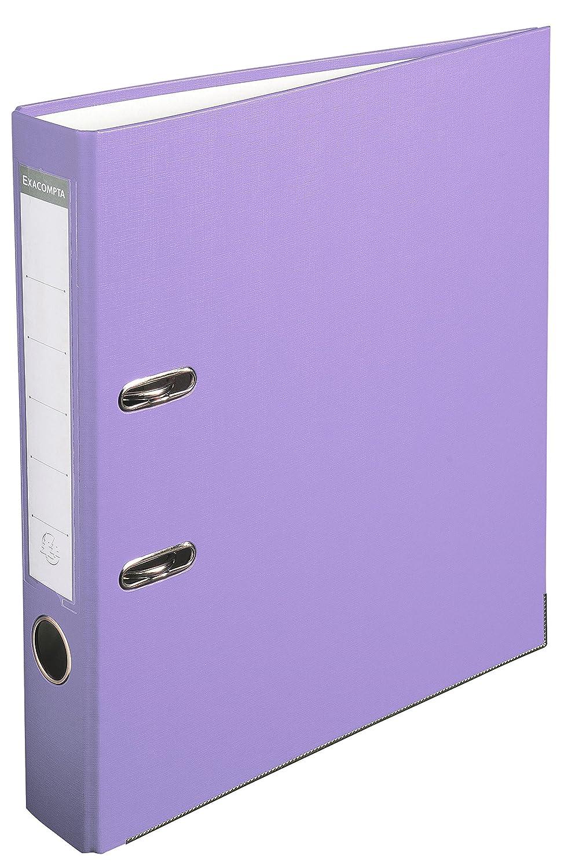 Exacompta archivador (polipropileno, A4, 2 anillas, lomo 50 mm, kaschierter cartón, gris: Amazon.es: Oficina y papelería