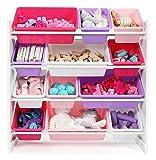 Tot Tutors Kids' Toy Storage Organizer with 12