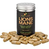 Noomadic Lion's Mane Mushroom Capsules, Nootropic (Memory) & Nerve Growth (NGF), Dual Extract
