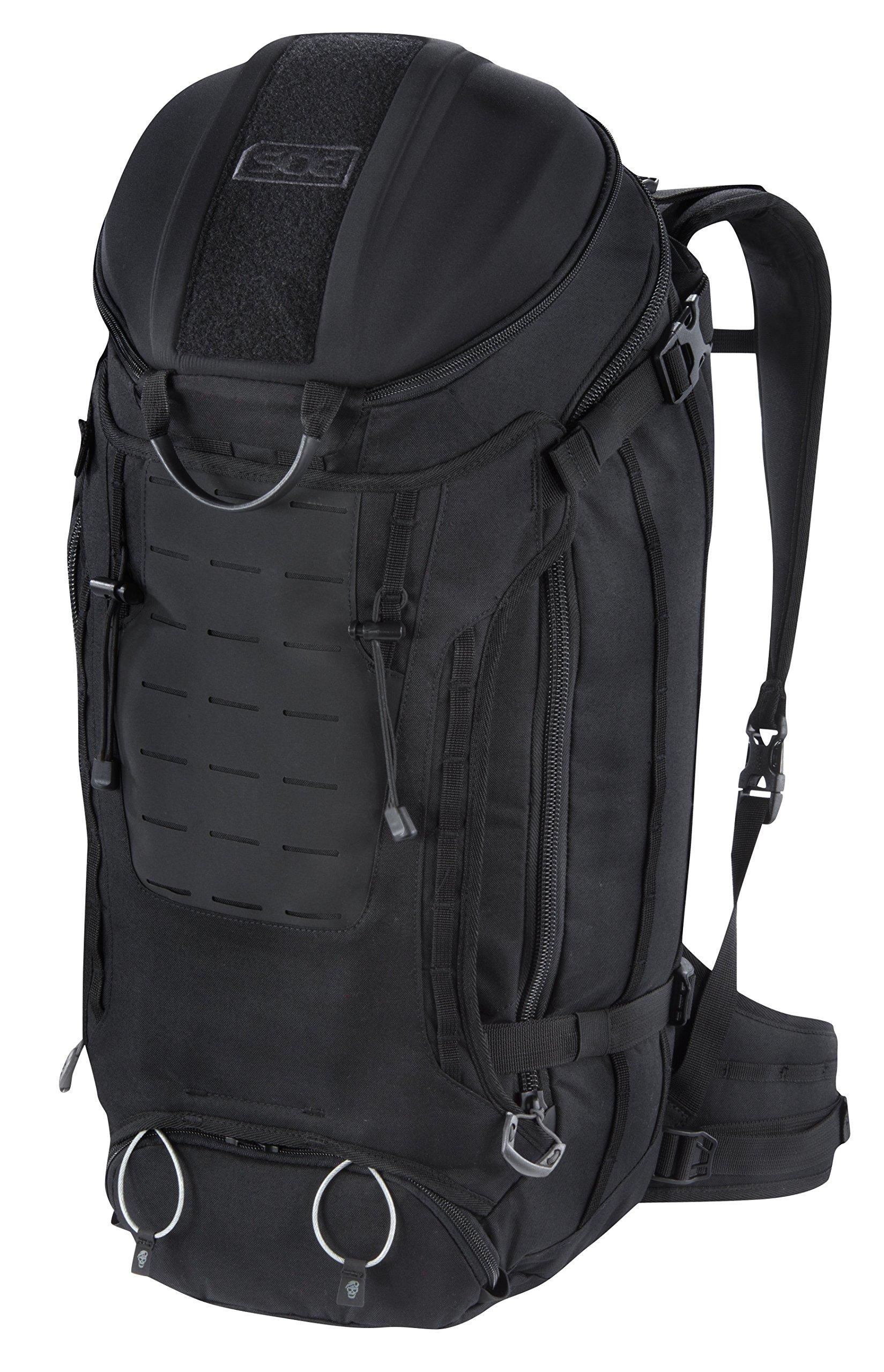 SOG Seraphim Backpack CP1006B Black, 35 L by SOG (Image #1)