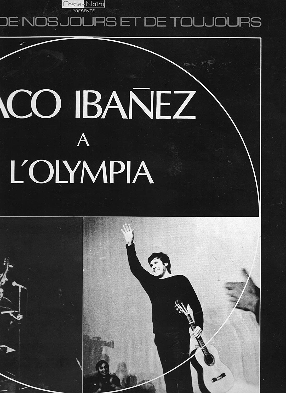 Paco Ibanez à L Olympia Paco Ibanez Amazon Es Música