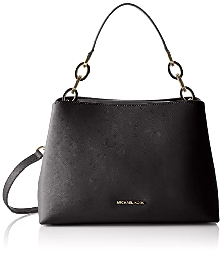 73d7794079de Amazon.com: MICHAEL Michael Kors Portia Large East/West Shoulder Black  Shoulder Handbags: Shoes