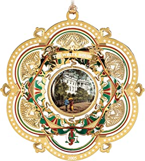 product image for ChemArt Brass Christmas Ornament - 2005 JAMES GARFIELD