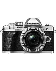 Olympus OM-D E-M10 Mark III - Cámara Evil de 16.1 MP (4k, FHD, LCD, Pantalla abatible, táctil, WiFi, 8.5 imágenes por Segundo, OLED) Plateado - Kit con Objetivo M.ZUIKO 14-42 EZ