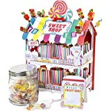 Street Stalls, Alzata per dolci a forma di negozio di dolciumi