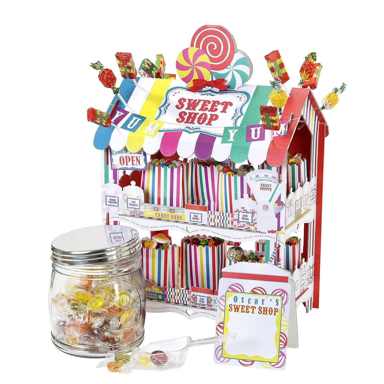 Talking Tables confitería/dulcería multicolor decorativa. Estilo retro, una decoración ideal para los cumpleaños o fiestas de verano: Amazon.es: Hogar